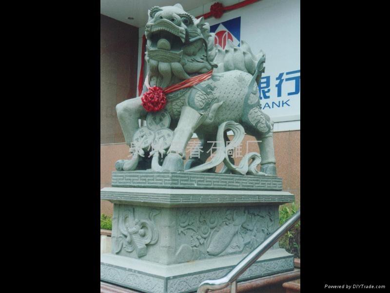 麒麟雕刻 3
