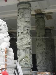 寺廟龍柱批發 福建石雕廠家直銷