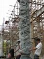 龙柱批发 福建石雕厂直销 4