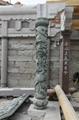 青石龙柱批发 厂家直销 福建石雕