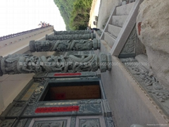 福建石雕廠青石龍柱批發