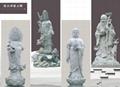 青石佛像石雕观音雕像 4
