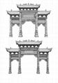 牌坊雕刻各類石材牌樓牌坊 4