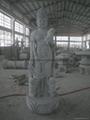 观音石雕佛像雕刻 4