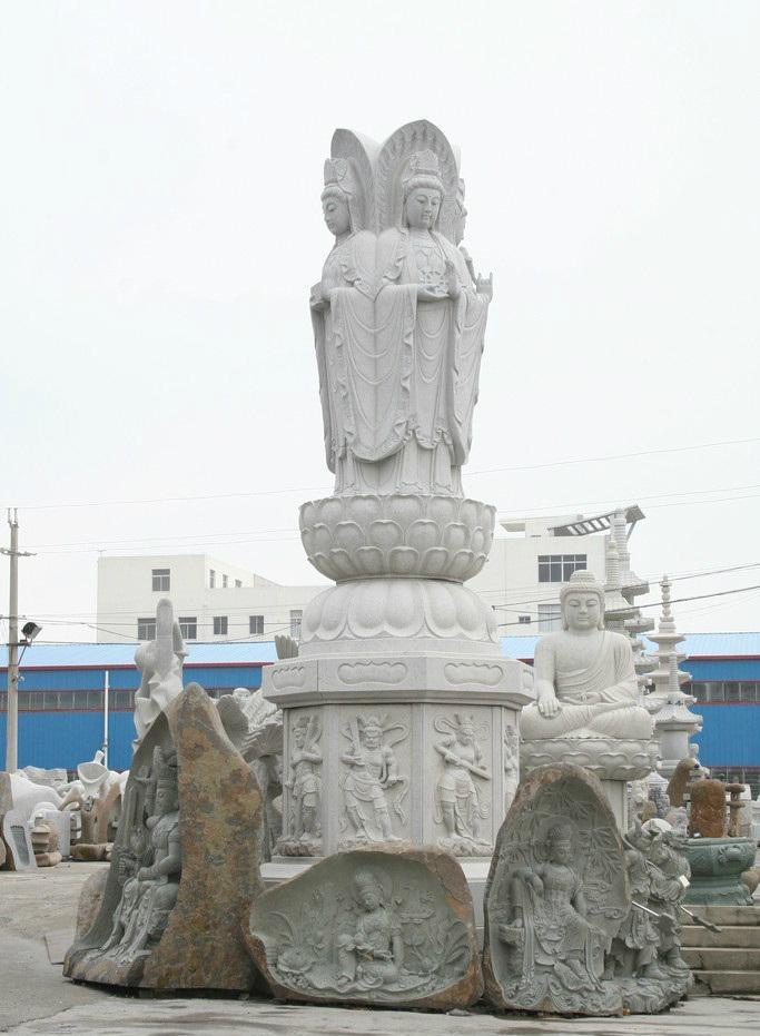 福建石雕廠直銷佛像雕刻 2