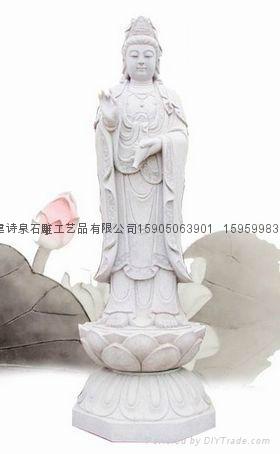 佛像石雕观音雕刻 1