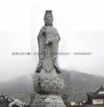 佛像石雕观音雕刻