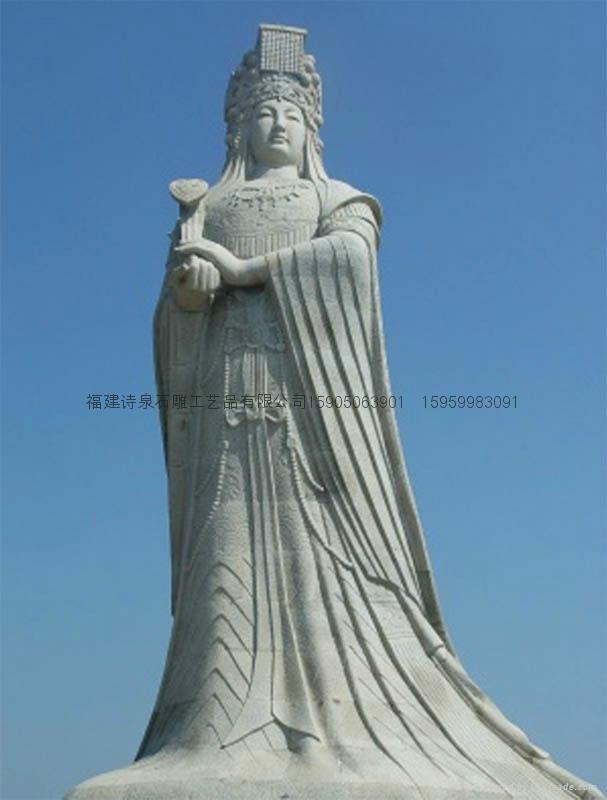 佛像石雕观音雕刻 3
