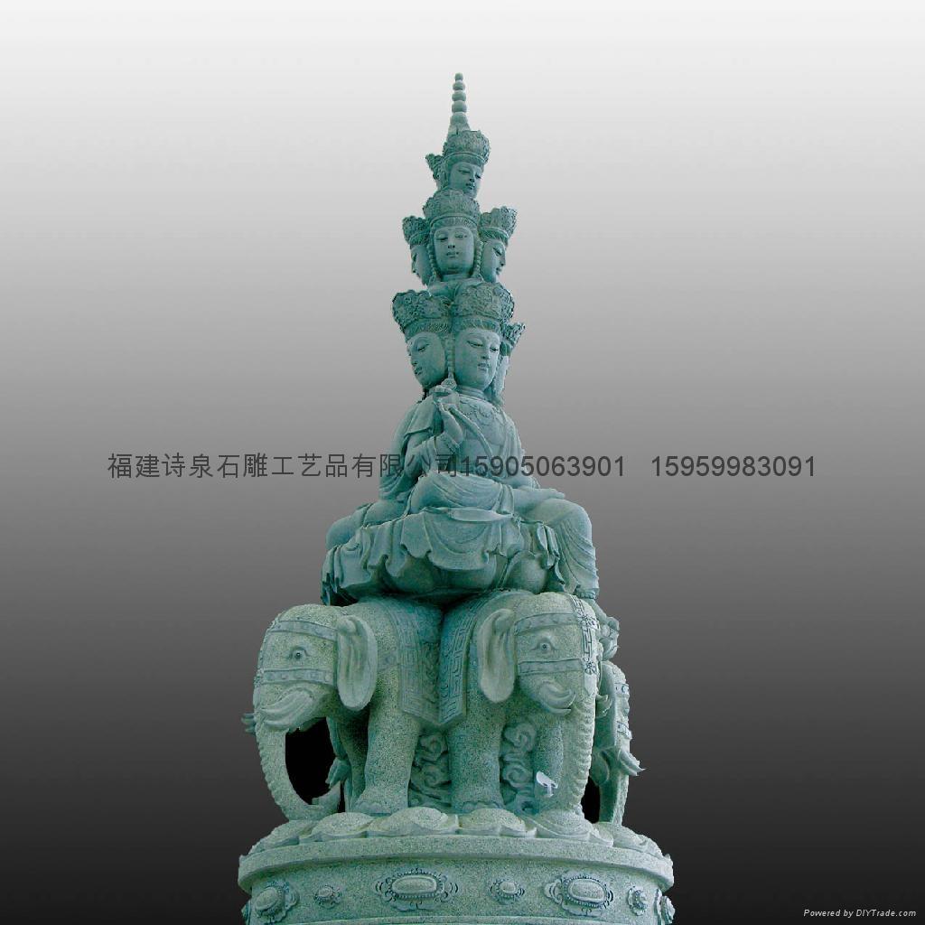 佛像石雕观音雕刻 4