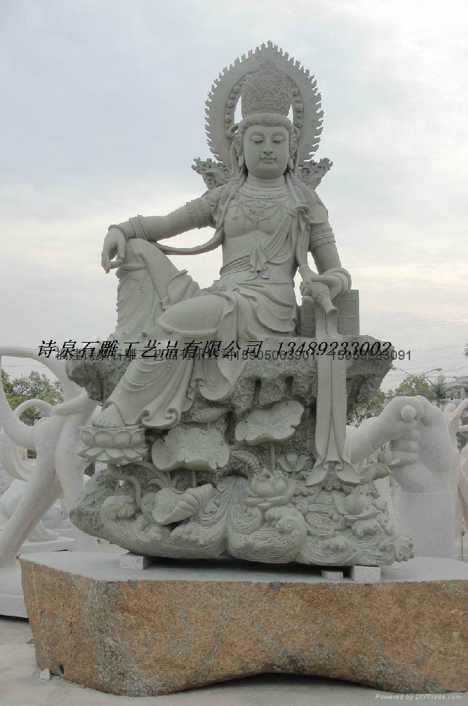 佛像石雕观音雕刻 5