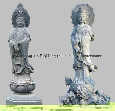 观音雕像佛像雕刻批发 3