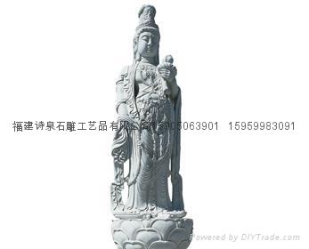 观音雕像佛像雕刻批发 4