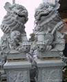 石雕獅子獻錢獅