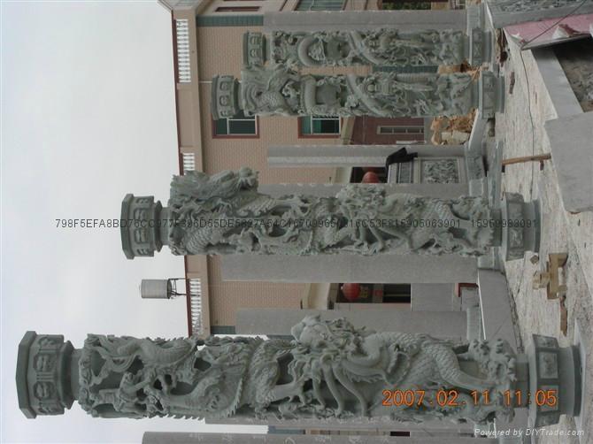 福建青石龍柱廠家直銷批發 14