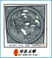 福建青石浮雕窗子 7