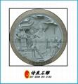 福建青石浮雕窗子 12