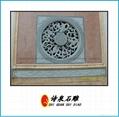 福建青石浮雕窗子 19
