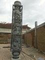 厂家直销(寺庙雕刻)龙柱-青石盘龙柱 8