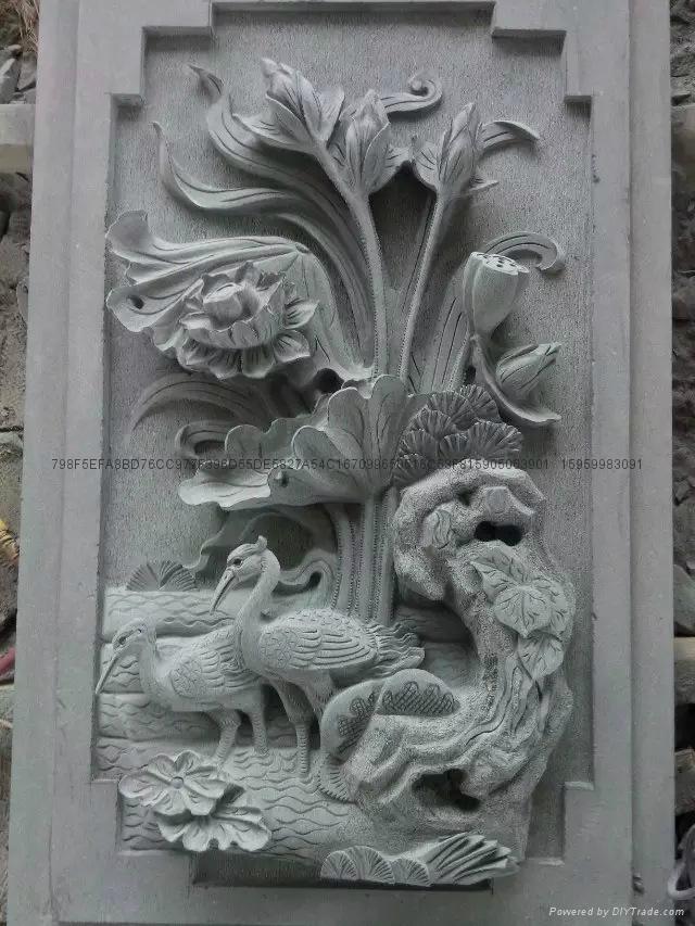 福建石雕-厂家直销-青石浮雕 2