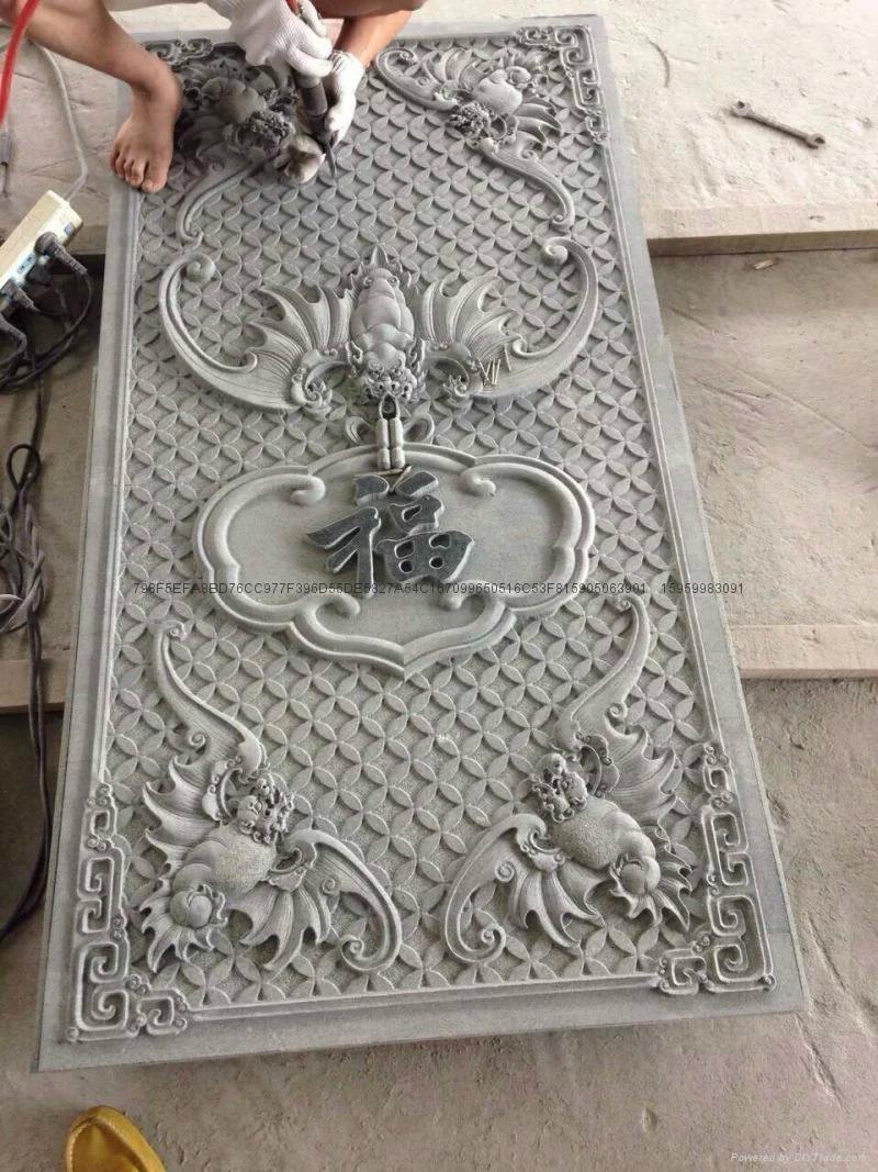 福建惠安石雕-寺廟雕刻-浮雕 4