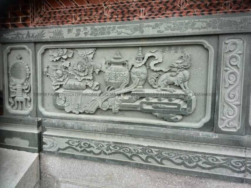 廠家直銷福建青石浮雕雕刻 1