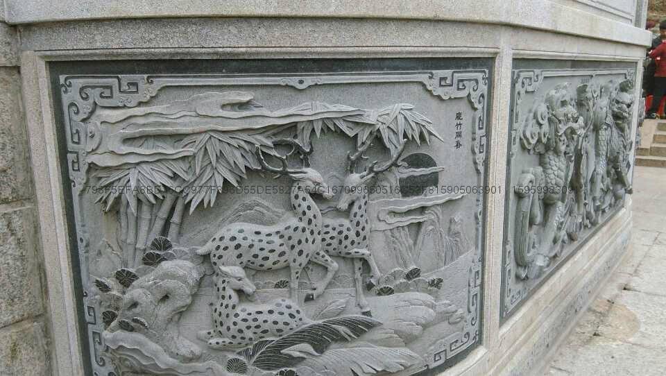 廠家直銷福建青石浮雕雕刻 2