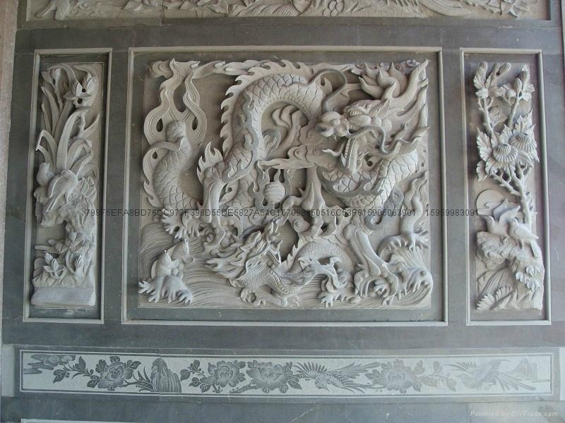 廠家直銷福建青石浮雕雕刻 6