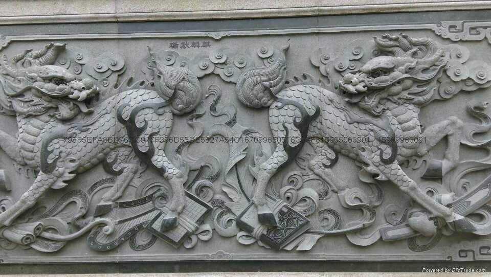厂家直销福建青石浮雕雕刻 7