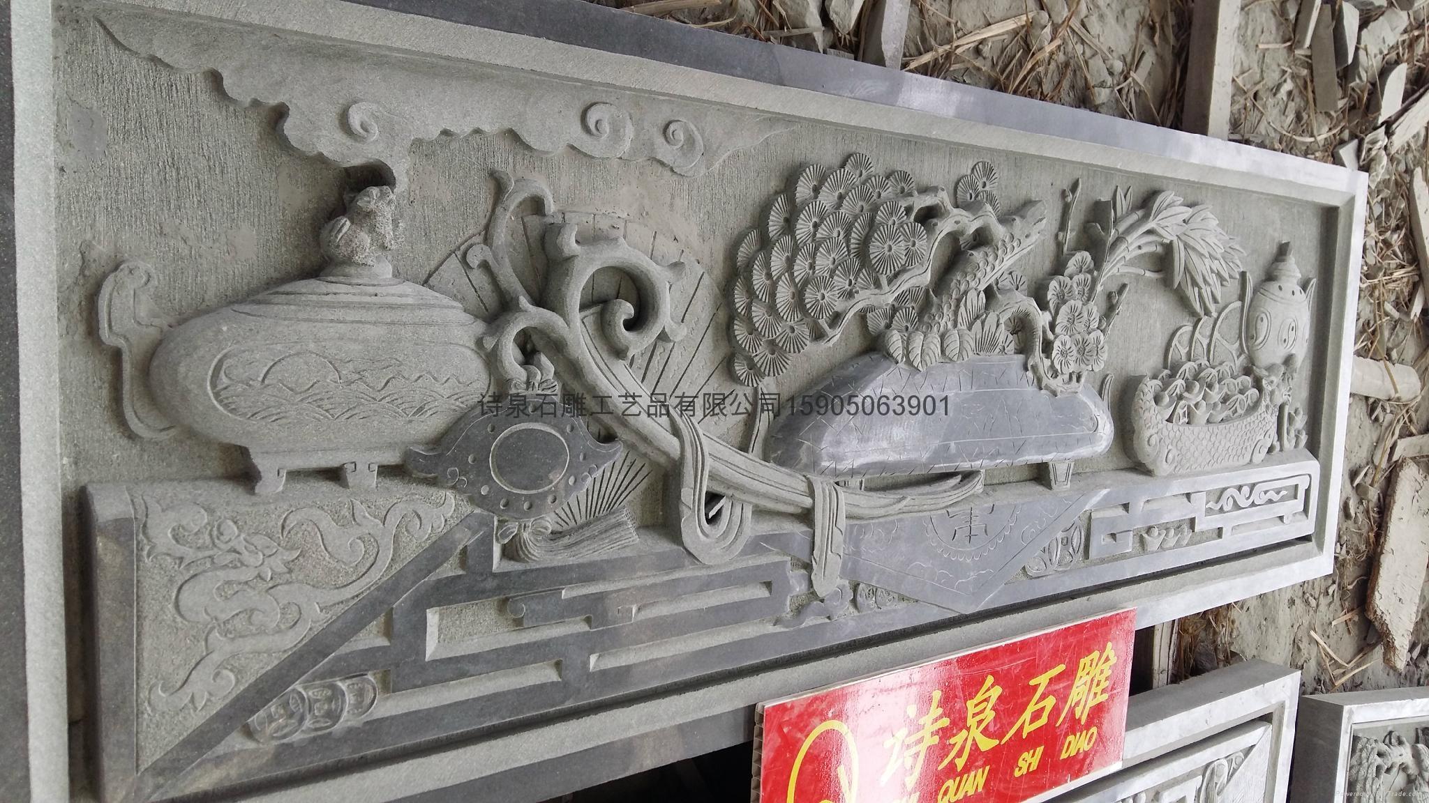 福建石雕廠供應青石浮雕石材雕刻 6