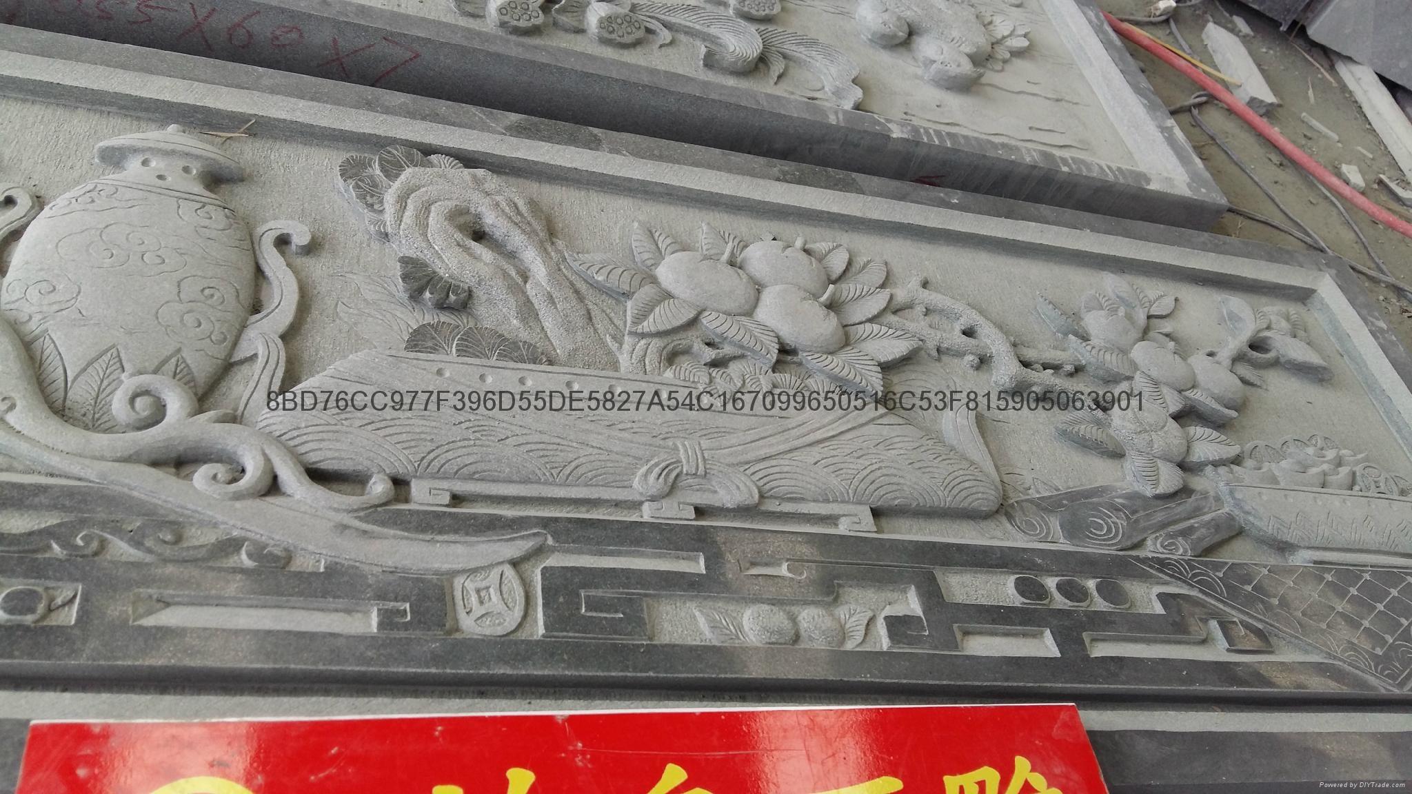 福建石雕廠供應青石浮雕石材雕刻 7