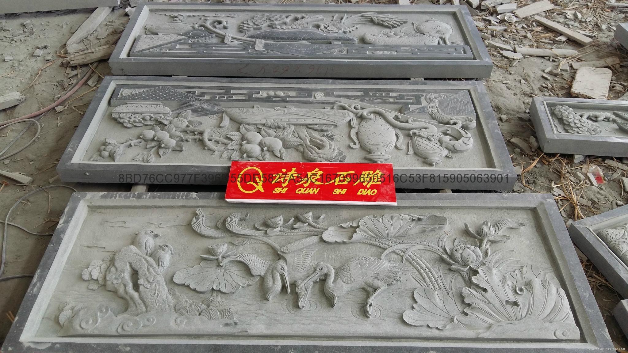 福建石雕廠供應青石浮雕石材雕刻 12