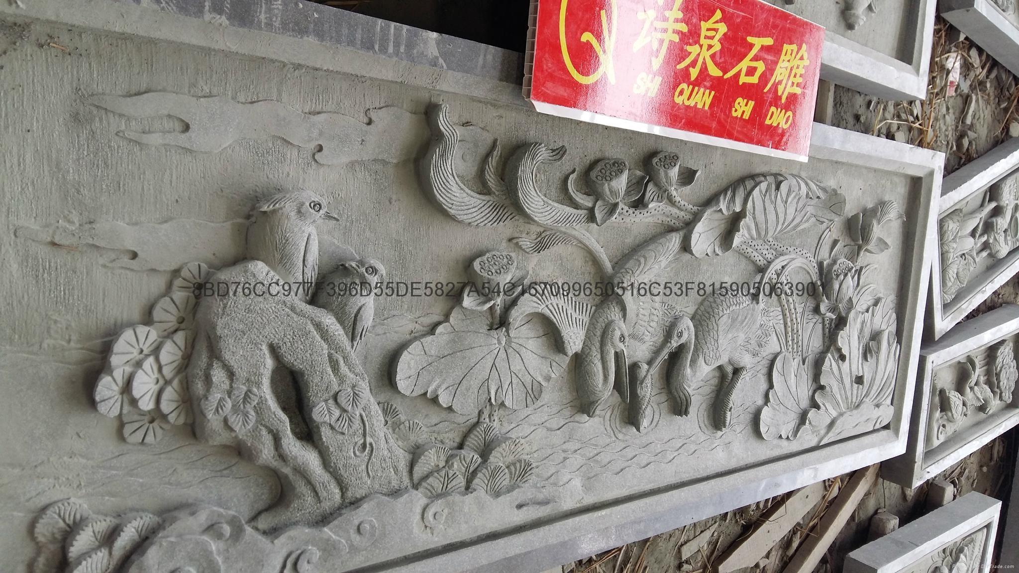 福建石雕廠供應青石浮雕石材雕刻 13