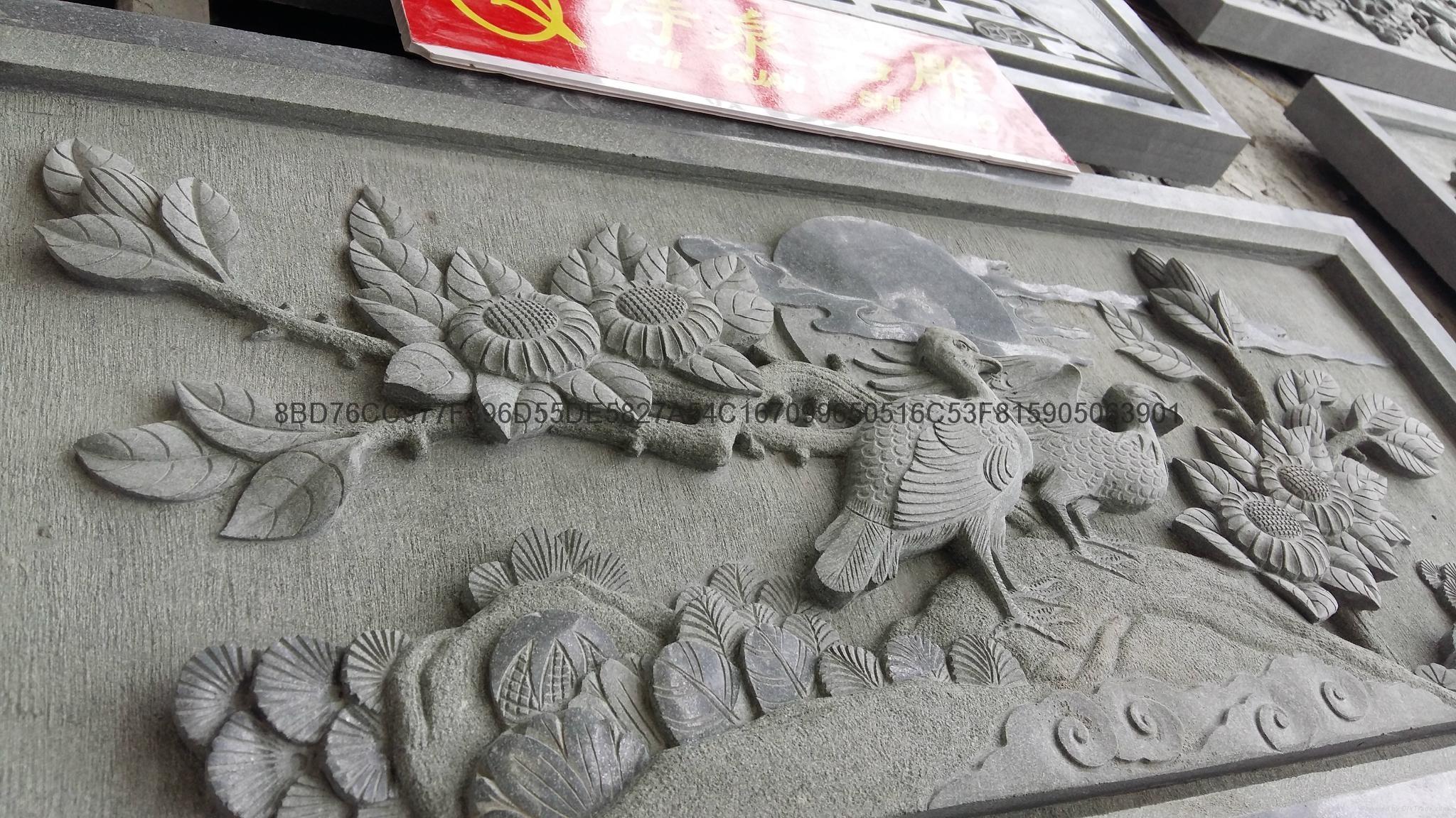 專業生產青石浮雕寺廟挂壁廠家直銷 10