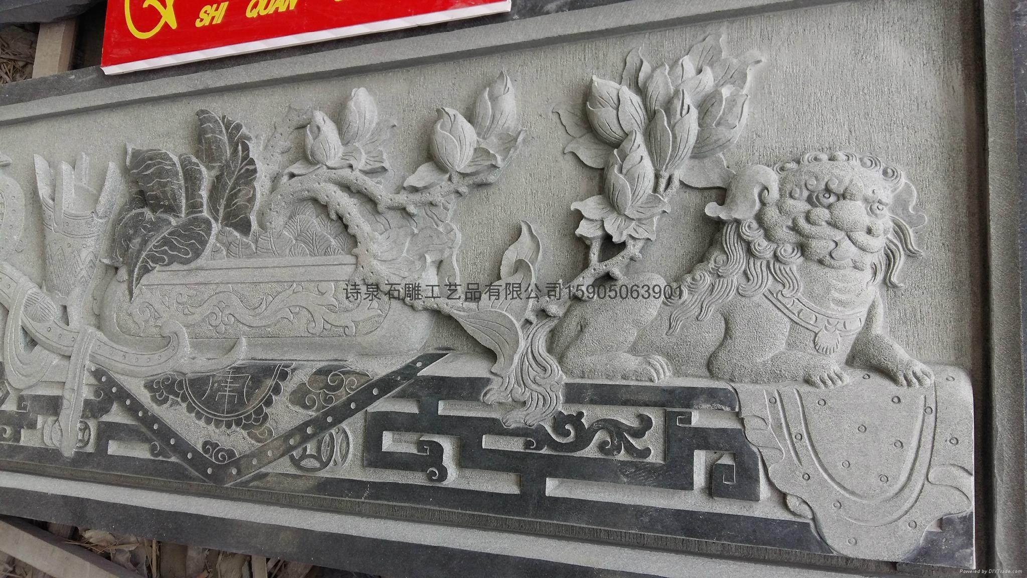 限量供应浮雕石雕厂家直销 2
