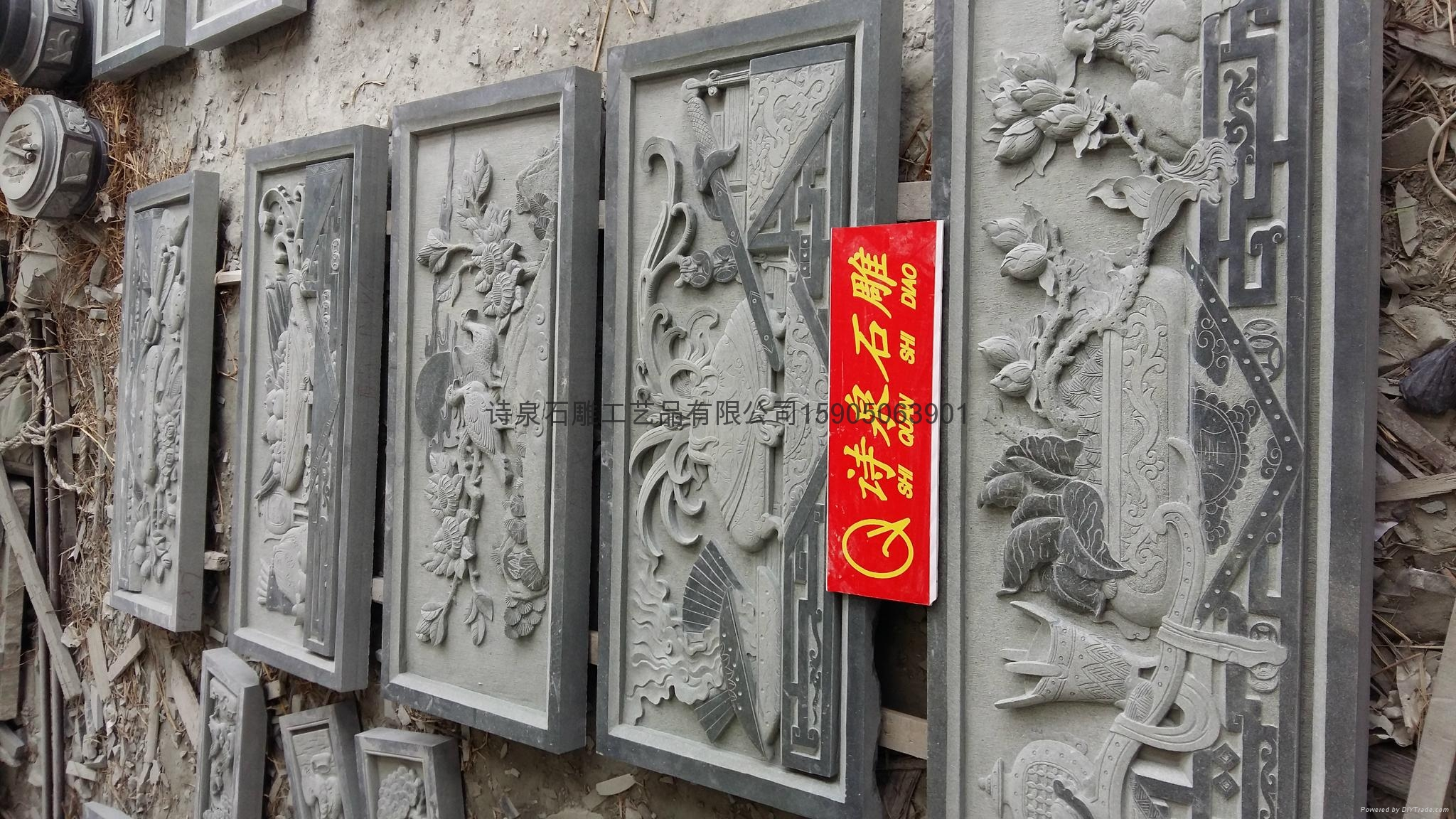 限量供应浮雕石雕厂家直销 7