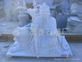 廟宇彫刻山神彫塑