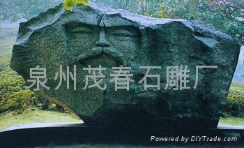 廟宇彫刻山神彫塑 2