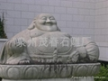 庙宇雕刻山神雕塑 3