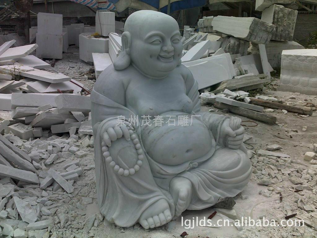 笑弥勒佛雕刻,笑佛 2