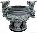 香爐雕刻 2
