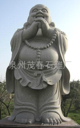 笑弥勒佛雕刻,笑佛 5