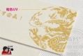 特种纸名片工艺烫金压凹凸圆角UV水晶字 5