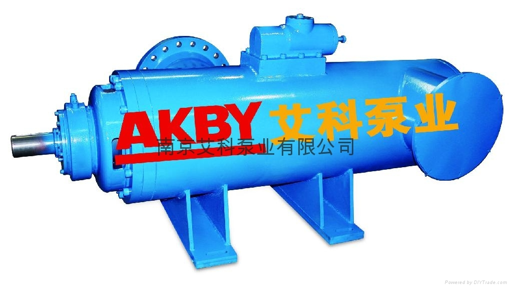 snhg高压大流量长距离输送原油泵外输泵图片