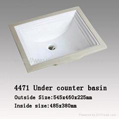 under counter basin,sink