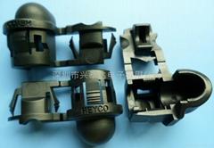 HEYCO线扣1818 耐高温线卡RDD101 UL线扣安规电源线扣