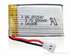3.7V 650mAh RC Lithium polymer li-po battery for Syma X5C-1RC Quadcopter