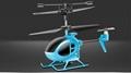 Tiniest mini IR helicopter Syma S6 3