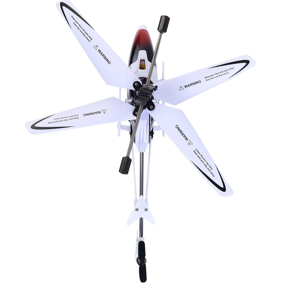 Syma S5 3CH Remote Control Mini RC Helicopter LED Searching Light New 4