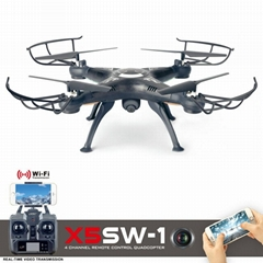 UPDATED SYMA X5SW-1 WIFI RC Drone fpv