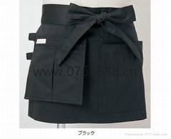 Factory processing trade aprons can give samples